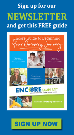 signup for Encore Tampa Bay newslettter